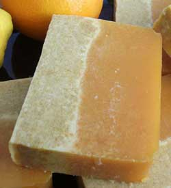 Citrus Lavender Coconut Milk Soap